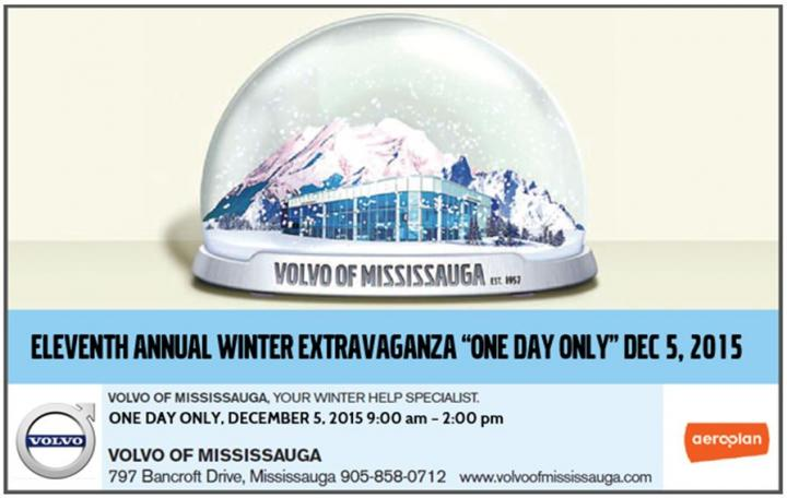 11th Annual Winter Extravaganza - Volvo of Mississauga