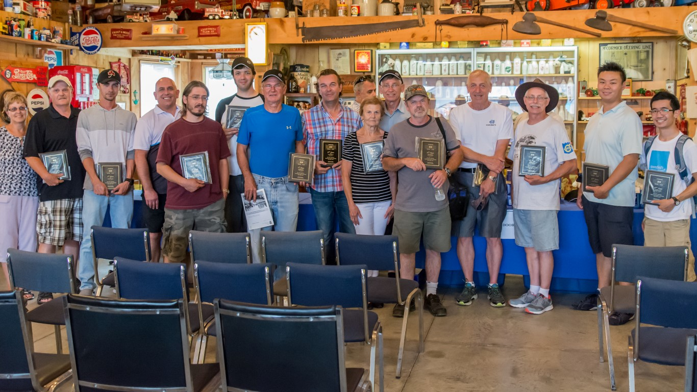 Canadian Volvo Club members at the 36th Annual Family Day